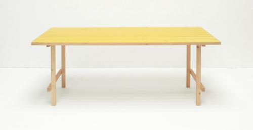 Flat project exhibition by jo nagasaka shuhei nakamura for Table exit fly