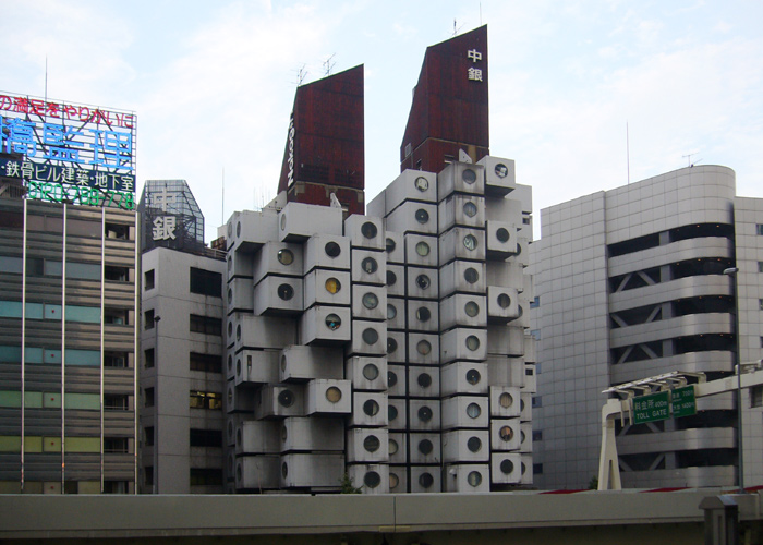 nakagin capsule tower  kisho kurokawa  architecturephoto net