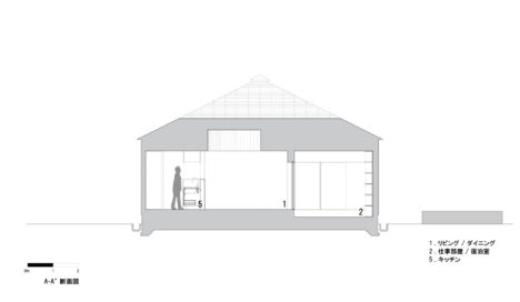 17_hiroshima-House_in_Mukainada_Section01_A-A'_JPN