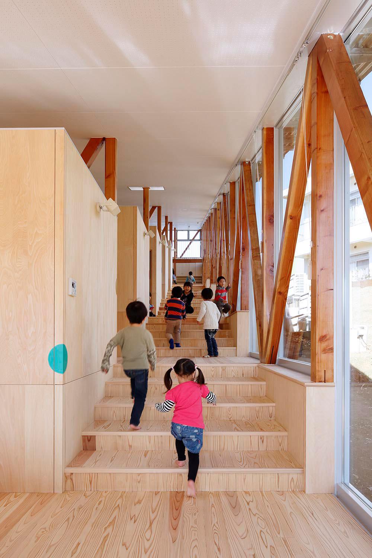 山﨑健太郎デザインワークショップによる、千葉県佐倉市の「はくすい保育園」 Architecturephoto Net